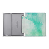 The whole view of Personalized Kindle Oasis Case with Abstract Watercolor Splash design