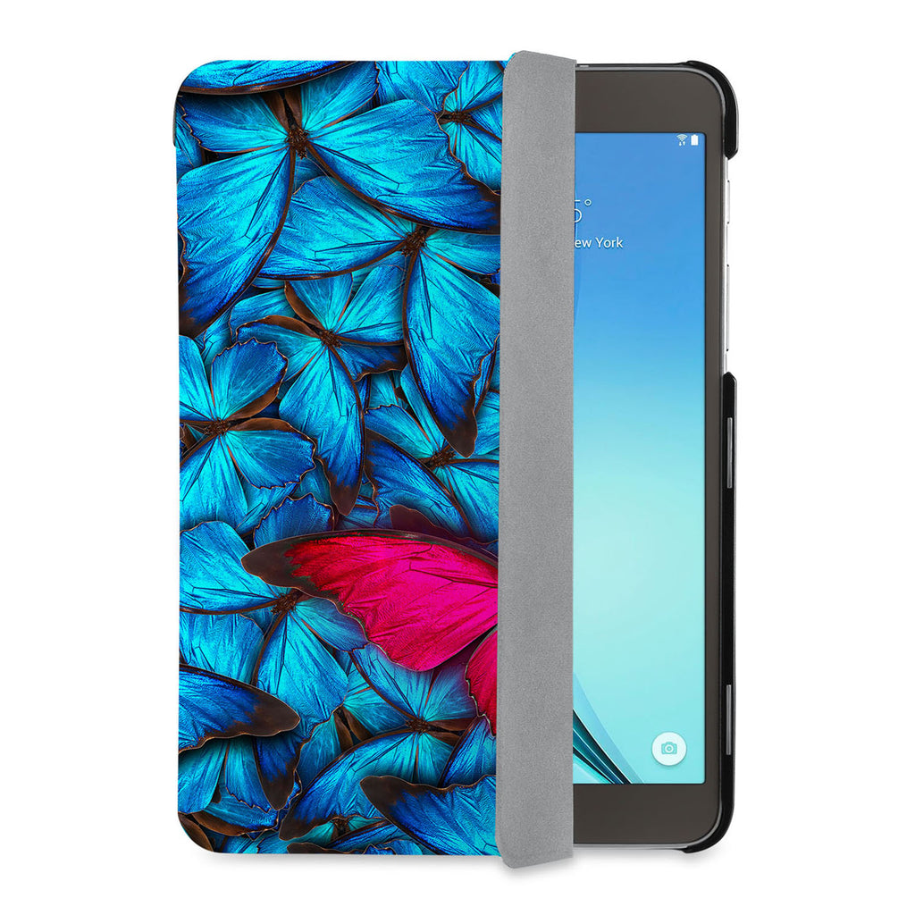 auto on off function of Personalized Samsung Galaxy Tab Case with Butterfly design - swap