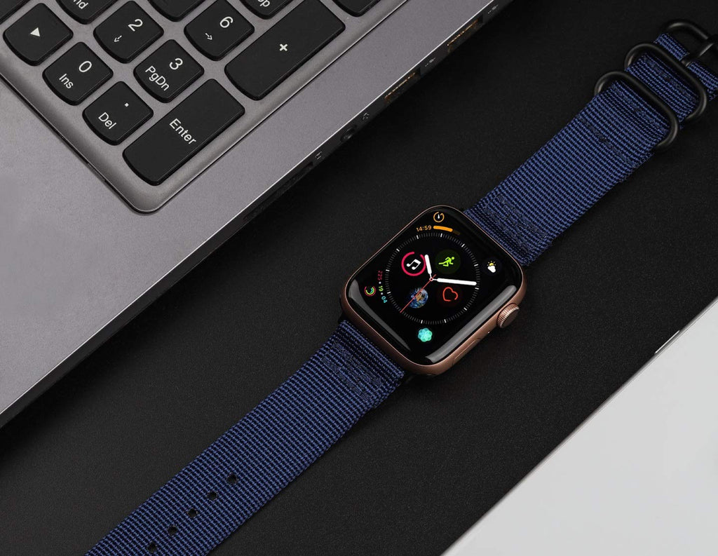 Nylon Band for Apple Watch - Navy