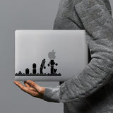 hardshell case with Brick Man design combines a sleek hardshell design with vibrant colors for stylish protection against scratches, dents, and bumps for your Macbook
