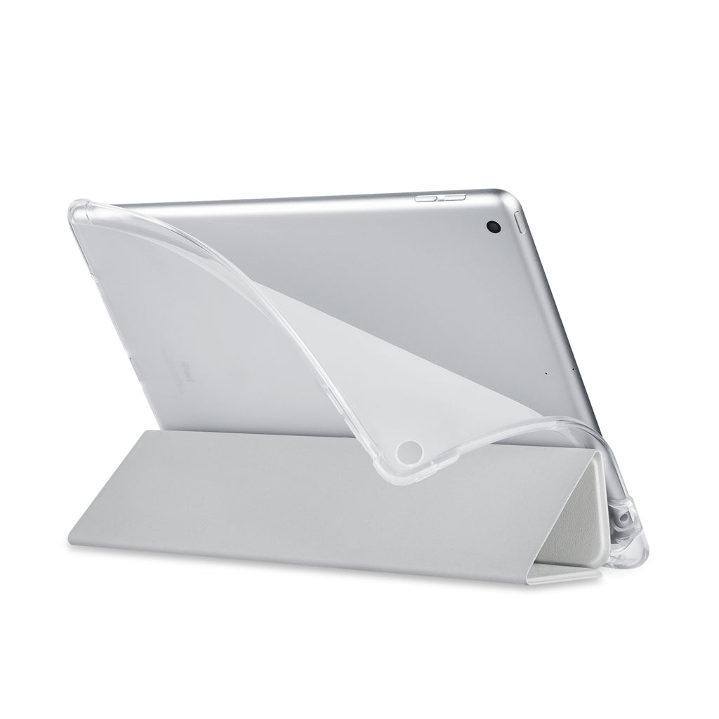 Balance iPad SeeThru Casd with Flamingo Design has a soft edge-to-edge liner that guards your iPad against scratches.
