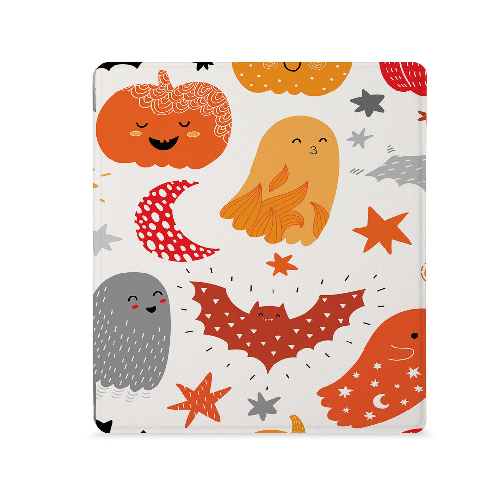 the Front View of Personalized Kindle Oasis Case with Halloween design - swap