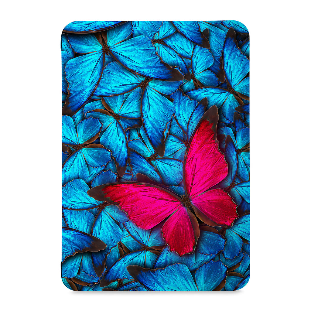 the front view of Personalized Samsung Galaxy Tab Case with Butterfly design