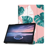 Personalized Samsung Galaxy Tab Case with Pink Flower 2 design provides screen protection during transit