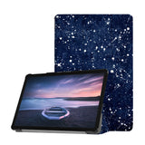Personalized Samsung Galaxy Tab Case with Galaxy Universe design provides screen protection during transit