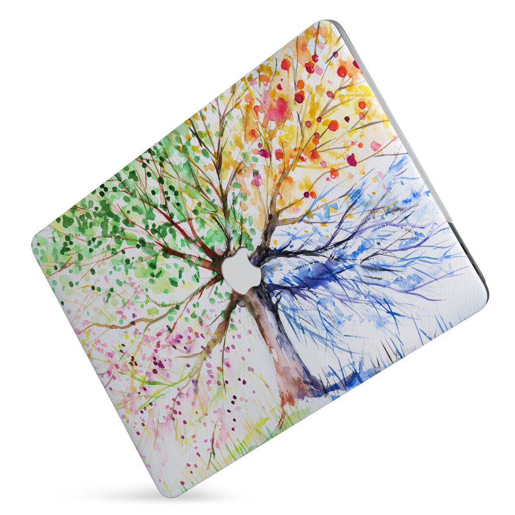 Protect your macbook  with the #1 best-selling hardshell case with Watercolor Flower design
