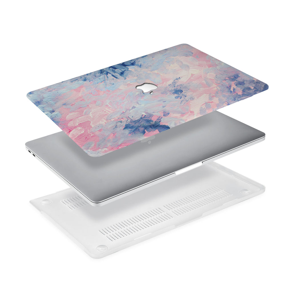 Ultra-thin and lightweight two-piece hardshell case with Oil Painting Abstract design is easy to apply and remove - swap