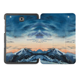 the whole printed area of Personalized Samsung Galaxy Tab Case with Landscape design