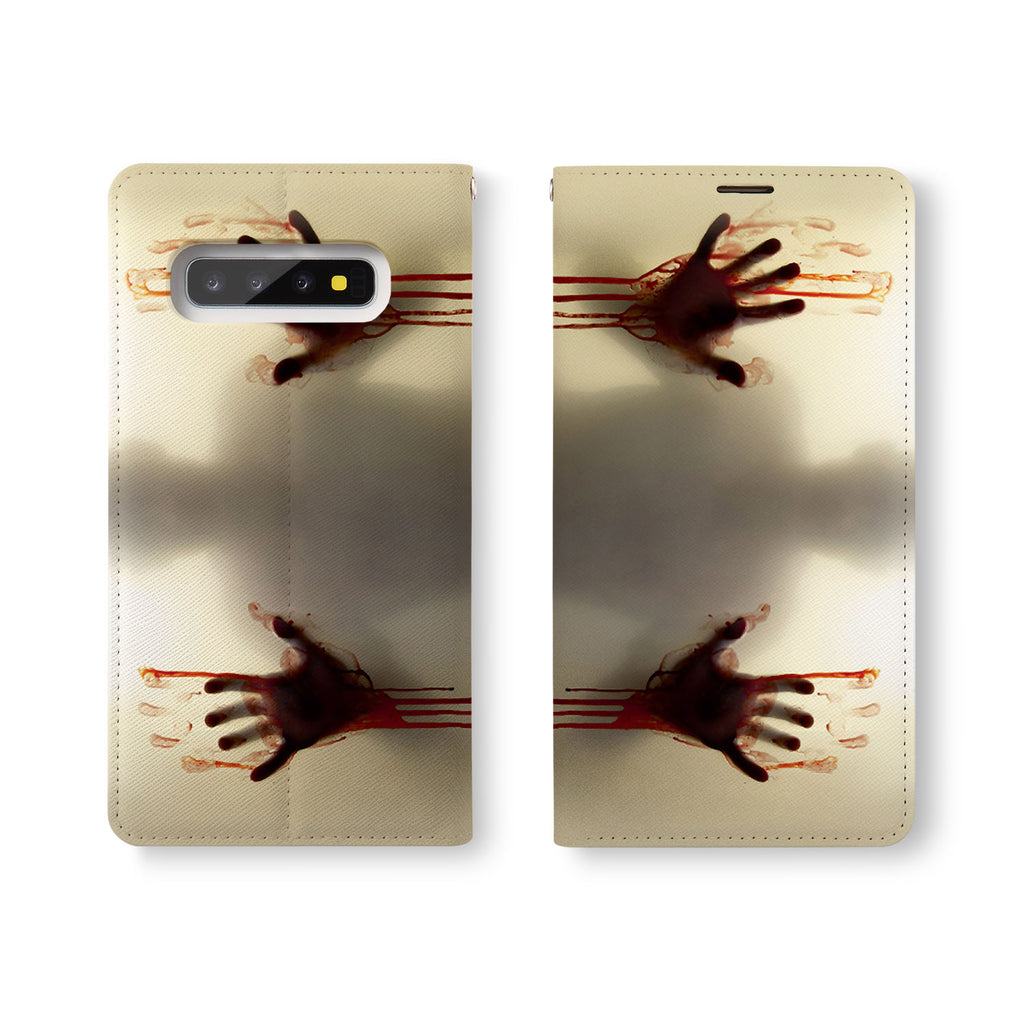 Personalized Samsung Galaxy Wallet Case with Horror desig marries a wallet with an Samsung case, combining two of your must-have items into one brilliant design Wallet Case.