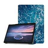 Personalized Samsung Galaxy Tab Case with Ocean design provides screen protection during transit