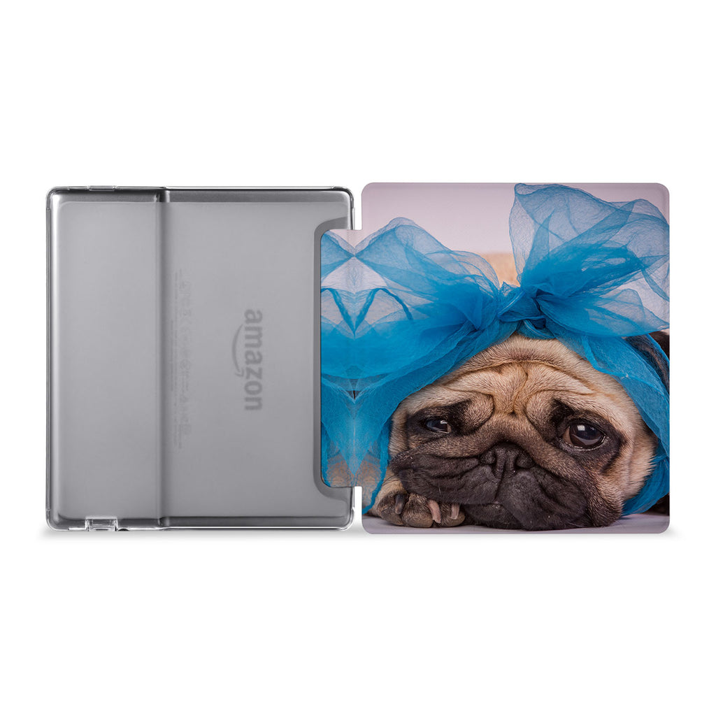 The whole view of Personalized Kindle Oasis Case with Dog design