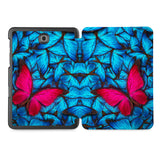 the whole printed area of Personalized Samsung Galaxy Tab Case with Butterfly design