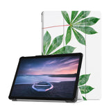 Personalized Samsung Galaxy Tab Case with Flat Flower design provides screen protection during transit