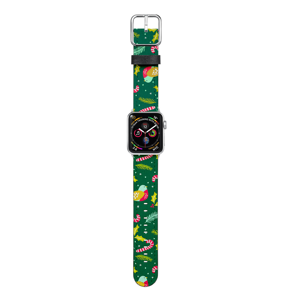 The material is soft and the unique cross-hatch pattern will ensure vibrant color finishing. Perfectly fits with new Apple Watch Series 4 and original Series 3, Series 2 and Series 1.