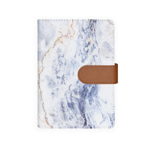 front view of personalized personal organiser with Marble design