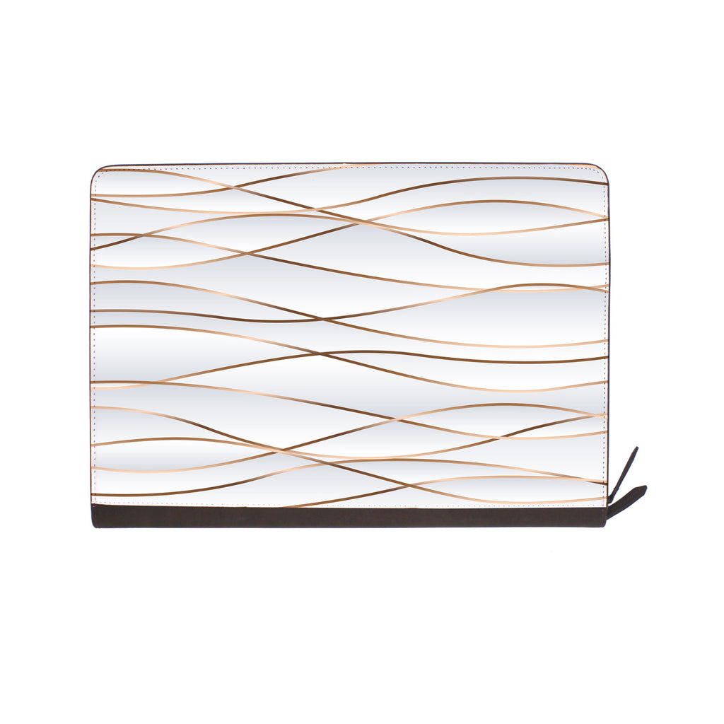 front view of personalized Macbook carry bag case with Luxury design