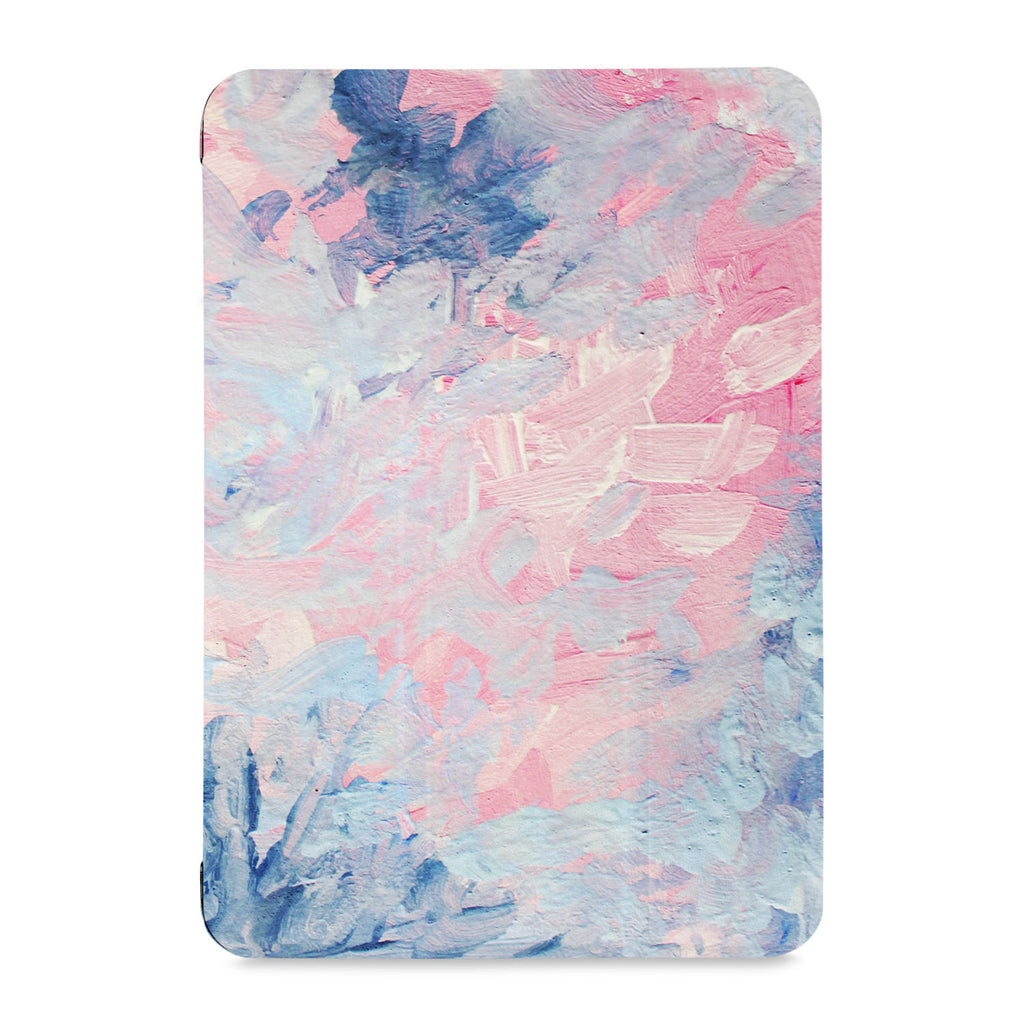 the front view of Personalized Samsung Galaxy Tab Case with Oil Painting Abstract design