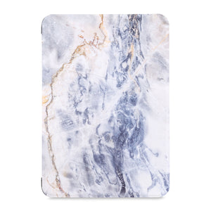 the front view of Personalized Samsung Galaxy Tab Case with Marble design