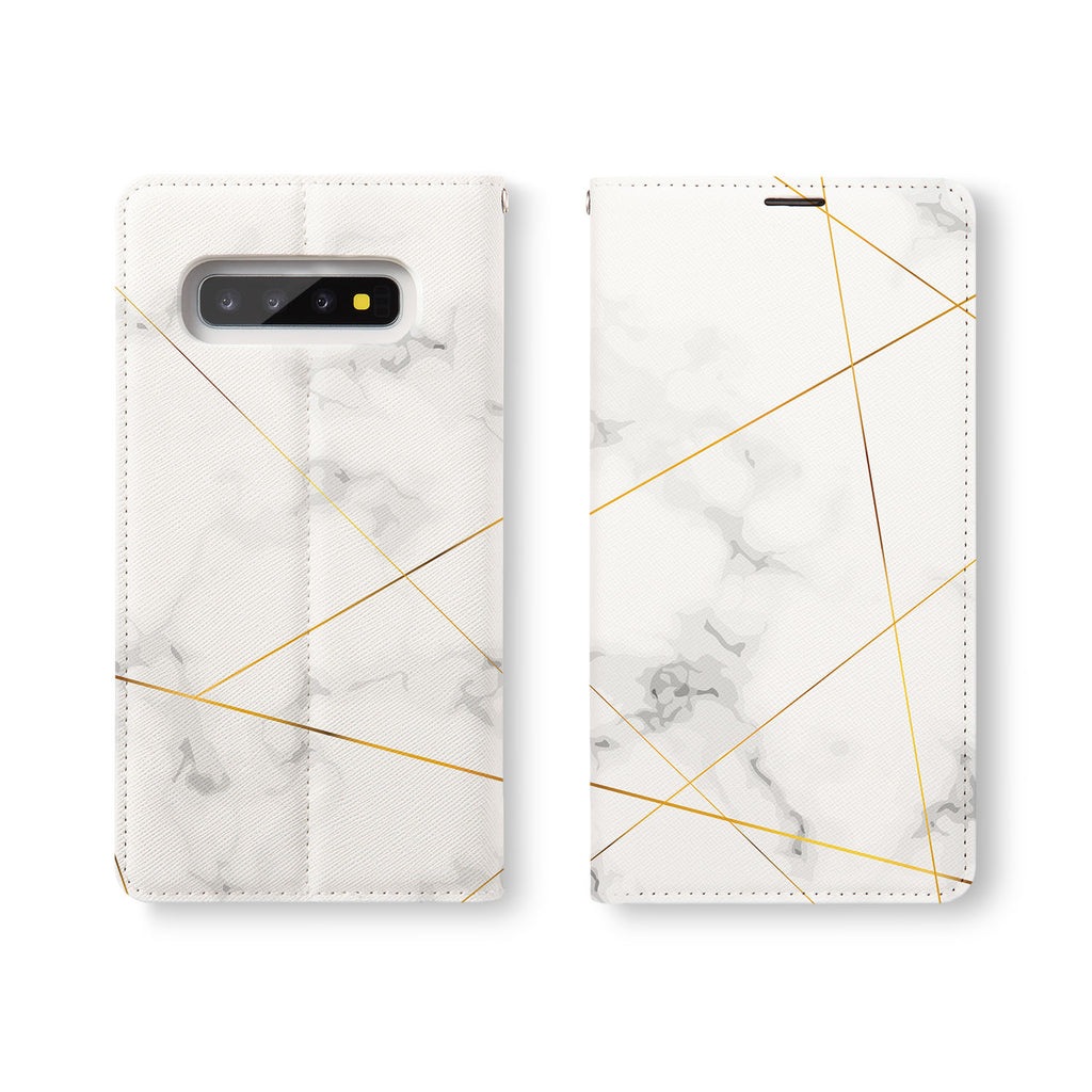 Personalized Samsung Galaxy Wallet Case with Marble 2020 desig marries a wallet with an Samsung case, combining two of your must-have items into one brilliant design Wallet Case.