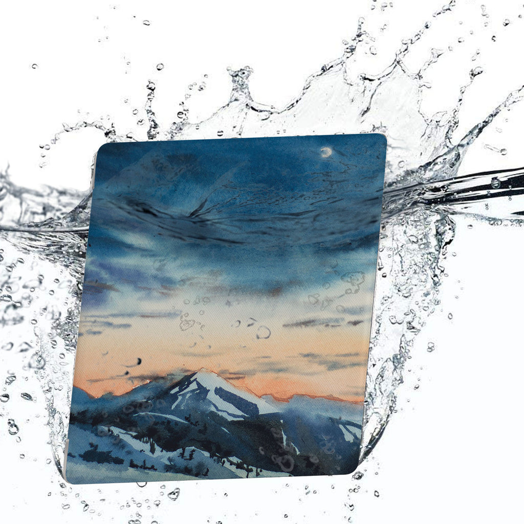Water-safe fabric cover complements your Kindle Oasis Case with Landscape design