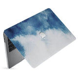 hardshell case with Abstract Ink Painting design has matte finish resists scratches