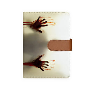 front view of personalized personal organiser with Horror design