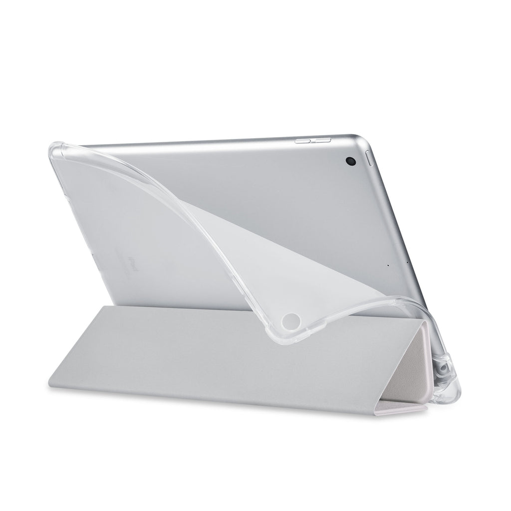 Balance iPad SeeThru Casd with Marble Art Design has a soft edge-to-edge liner that guards your iPad against scratches.