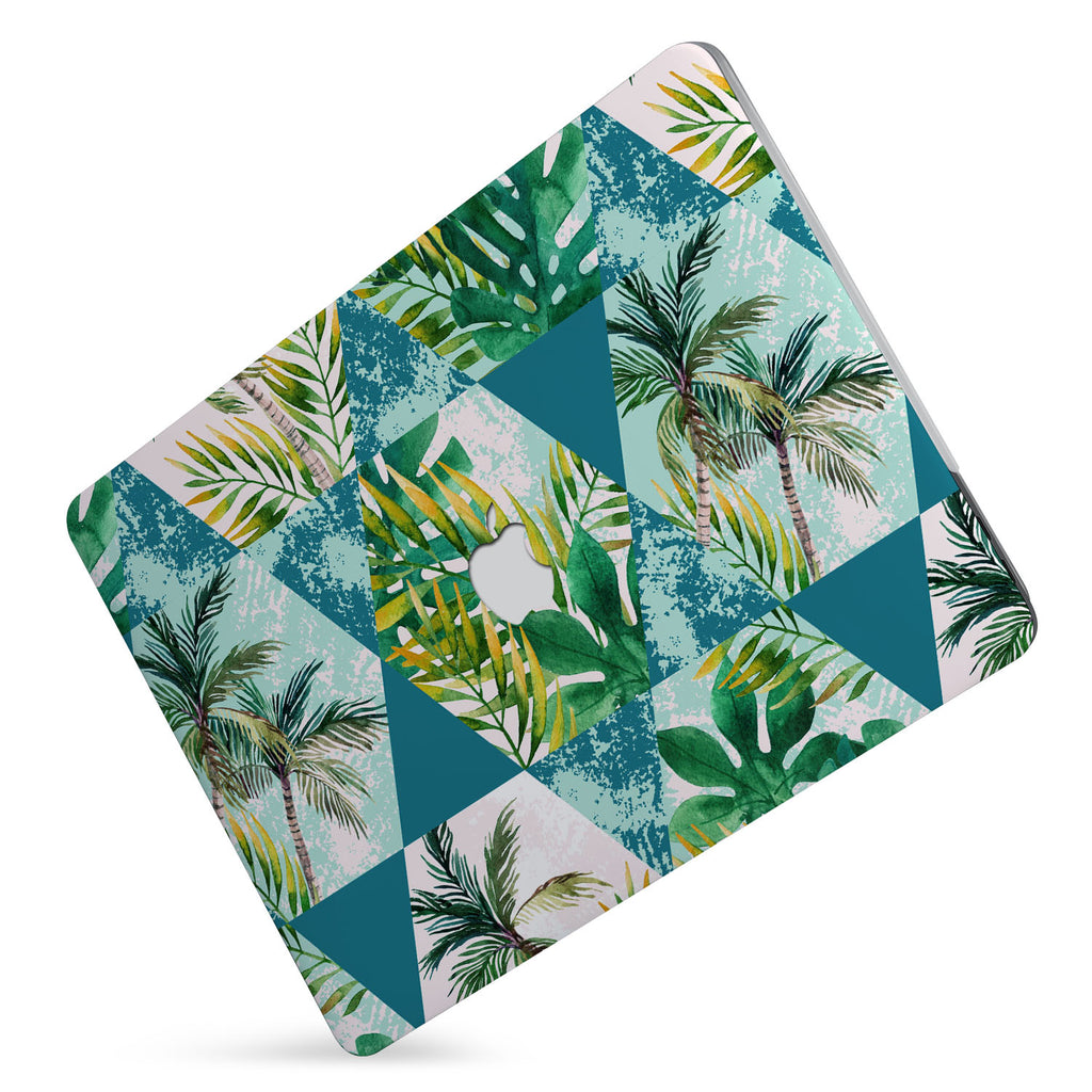 Protect your macbook  with the #1 best-selling hardshell case with Tropical Leaves design