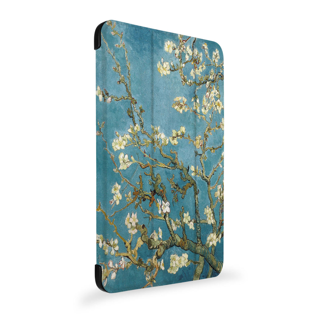the side view of Personalized Samsung Galaxy Tab Case with Oil Painting design