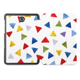 the whole printed area of Personalized Samsung Galaxy Tab Case with Geometry Pattern design
