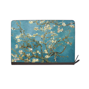 front view of personalized Macbook carry bag case with Oil Painting design