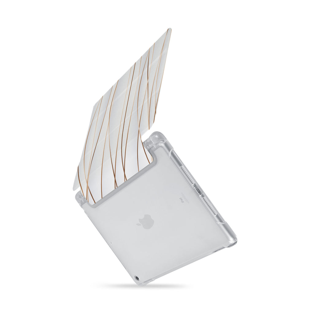 iPad SeeThru Casd with Luxury Design  Drop-tested by 3rd party labs to ensure 4-feet drop protection