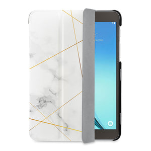 auto on off function of Personalized Samsung Galaxy Tab Case with Marble 2020 design - swap