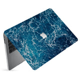 hardshell case with Ocean design has matte finish resists scratches