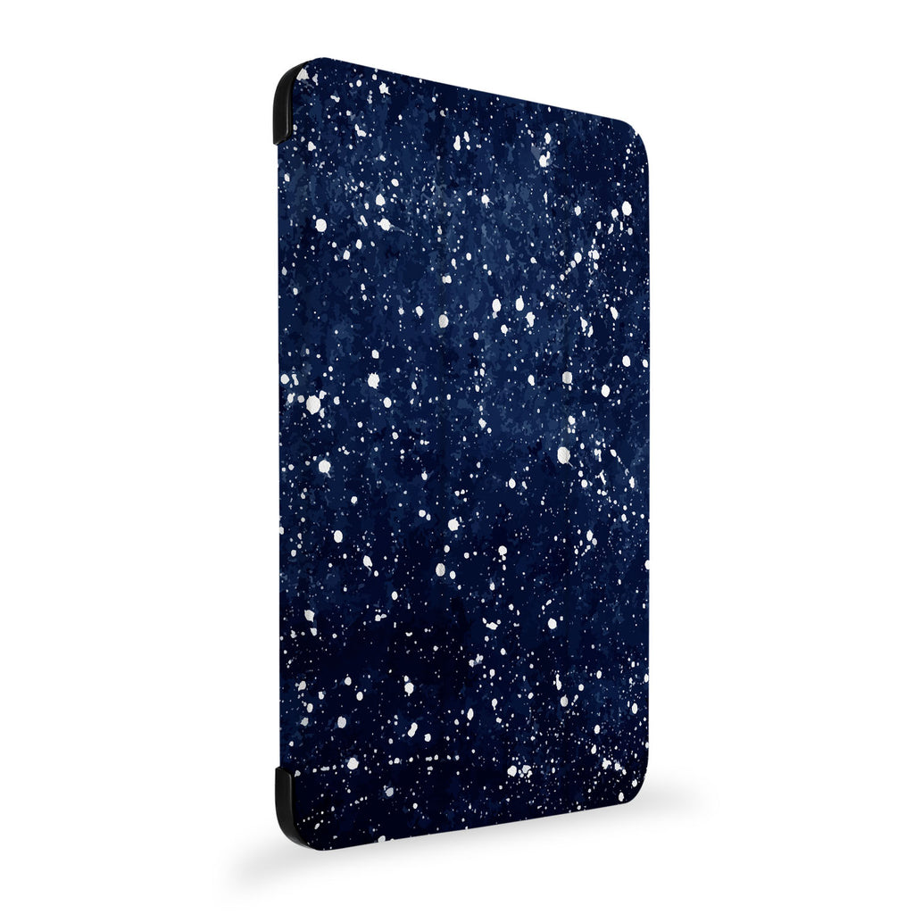 the side view of Personalized Samsung Galaxy Tab Case with Galaxy Universe design