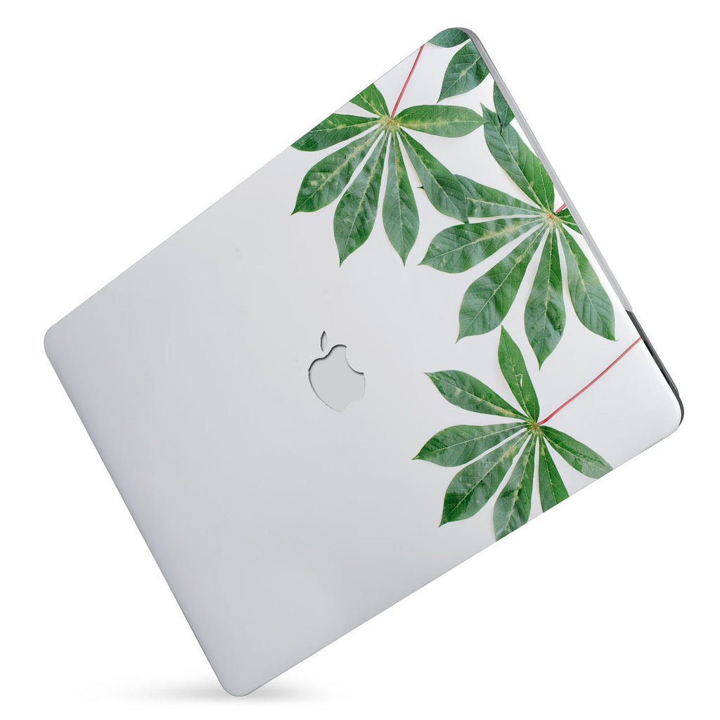 Protect your macbook  with the #1 best-selling hardshell case with Flat Flower design