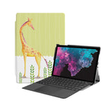 the Hero Image of Personalized Microsoft Surface Pro and Go Case with Cute Animal 2 design