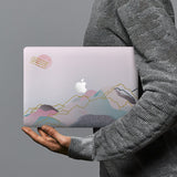 hardshell case with Marble Art design combines a sleek hardshell design with vibrant colors for stylish protection against scratches, dents, and bumps for your Macbook
