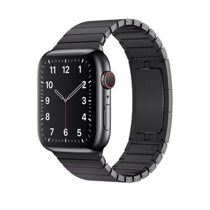 Link Bracelet Band for Apple Watch - Black
