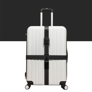 Luggage Crossed Strap - Black