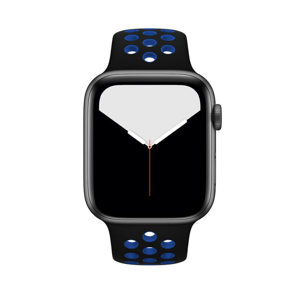 Sport Band Active for Apple Watch - Black Blue