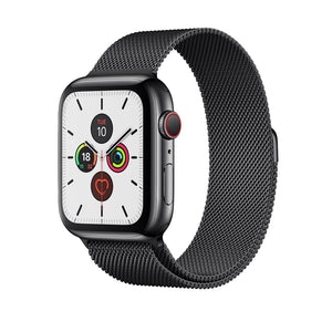 Milanese Loop Band for Apple Watch - Black