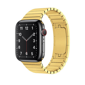 Link Bracelet Band for Apple Watch - Champagne Gold