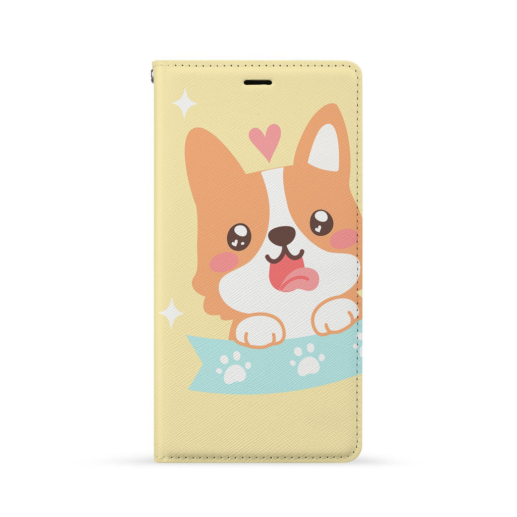 Front Side of Personalized Huawei Wallet Case with 2 design