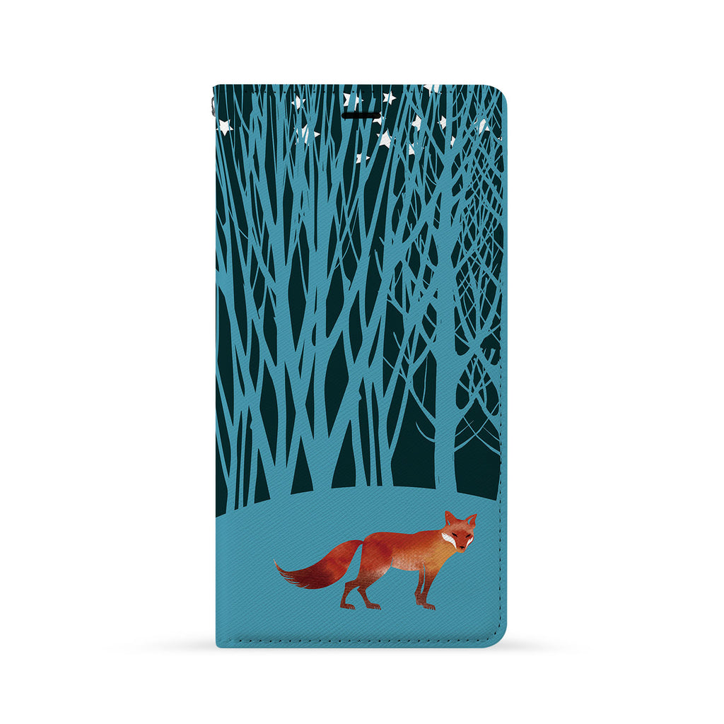 Front Side of Personalized iPhone Wallet Case with 8 design