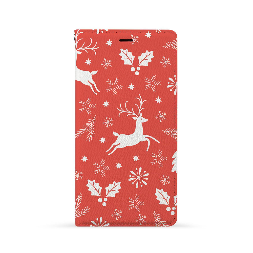 Front Side of Personalized Huawei Wallet Case with 3 design