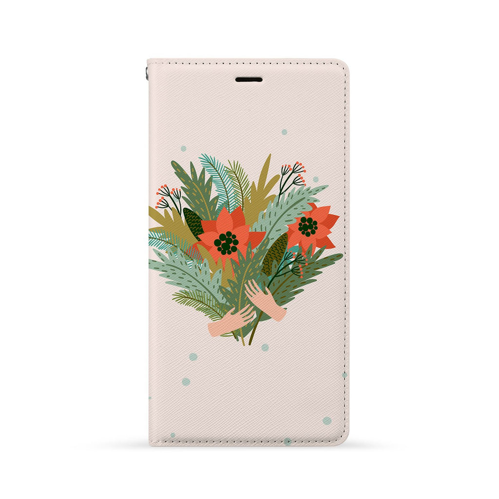 Front Side of Personalized Huawei Wallet Case with 7 design