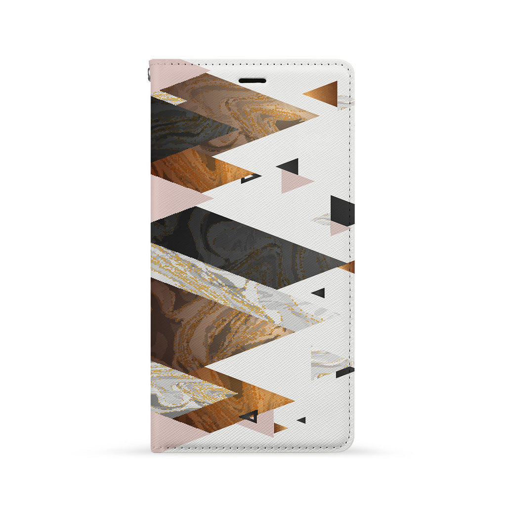 Front Side of Personalized iPhone Wallet Case with 05 design