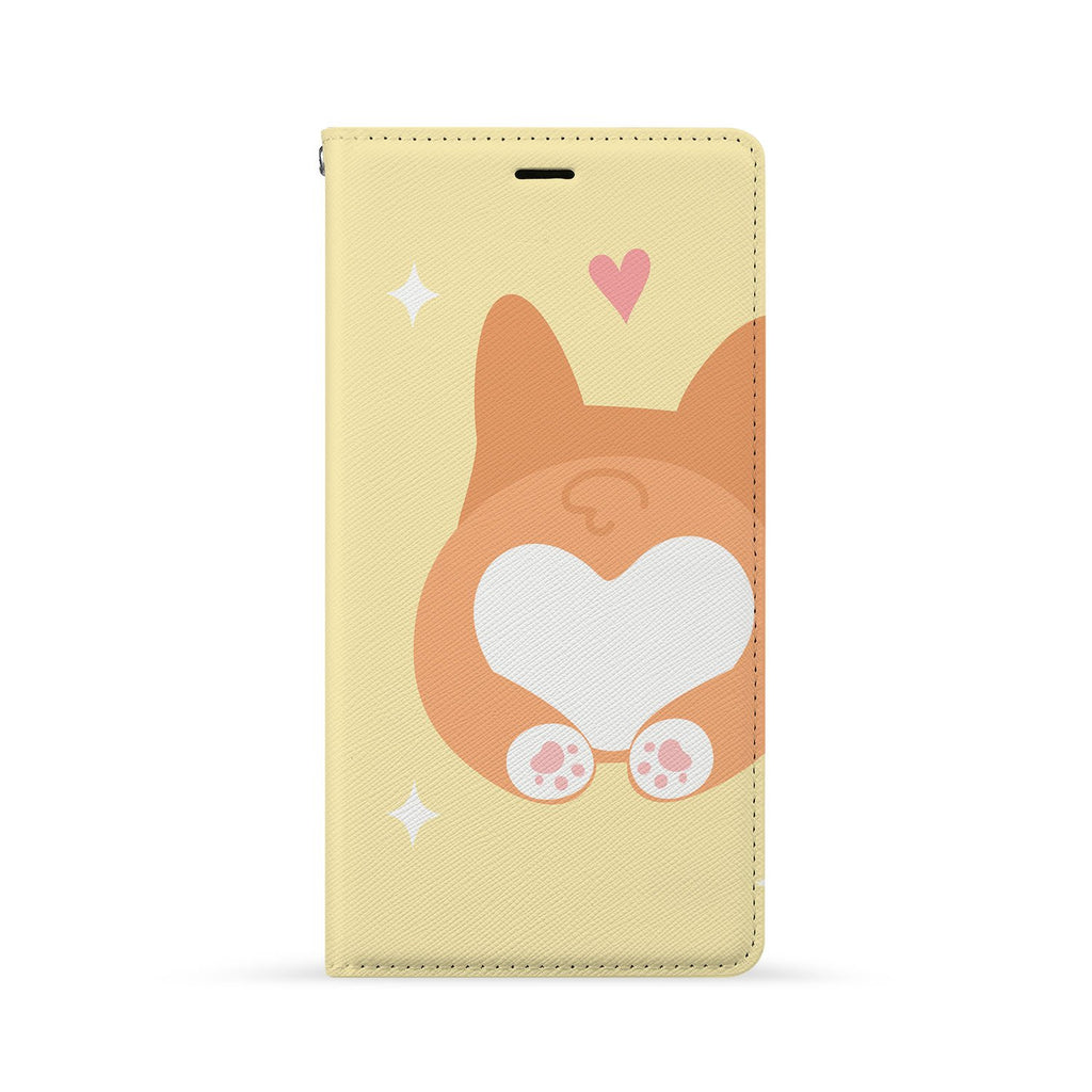 Front Side of Personalized Huawei Wallet Case with 4 design