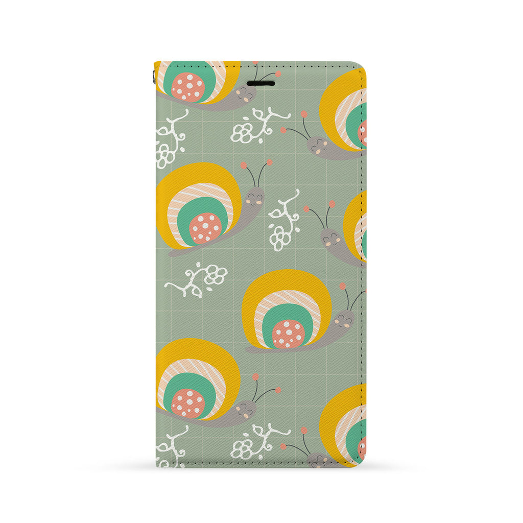 Front Side of Personalized iPhone Wallet Case with 3 design